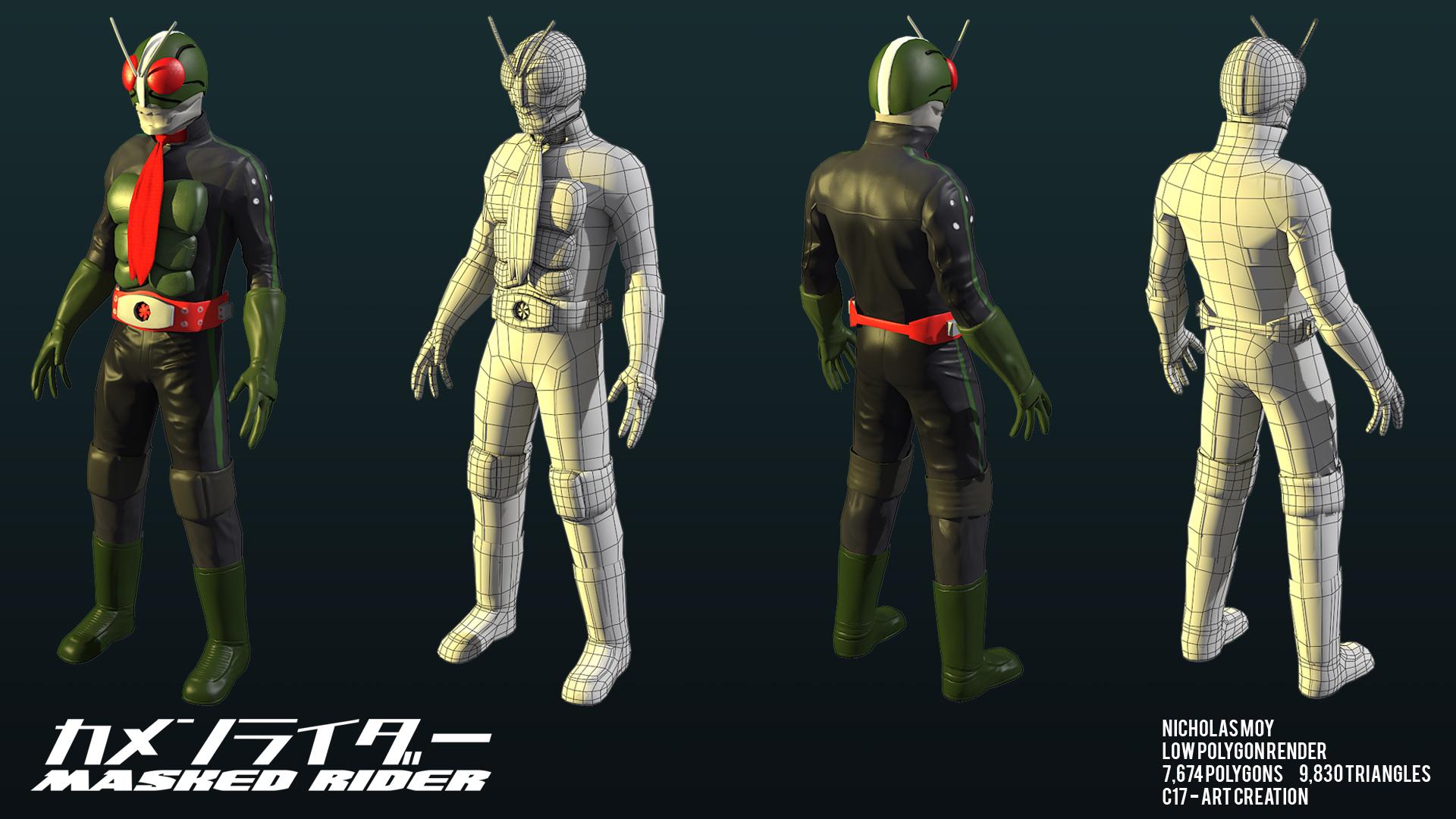 Kamen Rider Nick Moy 3d Artist Nick Moy 3d Artist